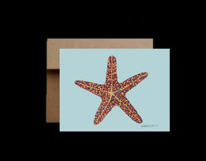 Starfish ~ Card