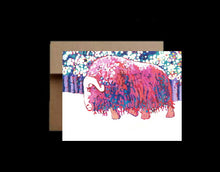 Load image into Gallery viewer, Bull Muskox ~ Card