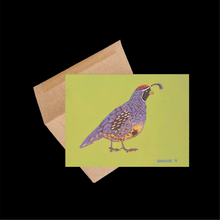 Load image into Gallery viewer, Gambel's Quail ~ Card