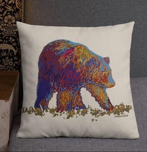 Load image into Gallery viewer, Walking bear - Premium Pillow