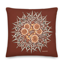 Load image into Gallery viewer, Barrel cactus #13 - Decorative Pillow