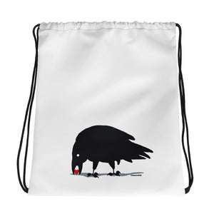 Raven Finds Love - Drawstring bag