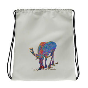 Bull moose1 - Drawstring bag