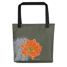 Load image into Gallery viewer, Claret cup hedgehog - Tote bag
