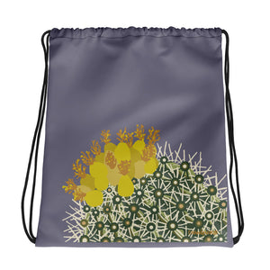 Ferocactus - Drawstring bag