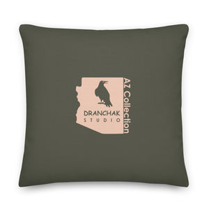 Claret cup hedgehog - Premium pillow