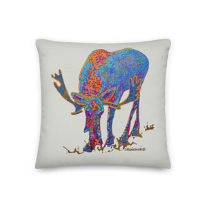 Bull moose 1 - Premium pillow