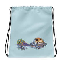 Load image into Gallery viewer, Sea otter - Drawstring bag
