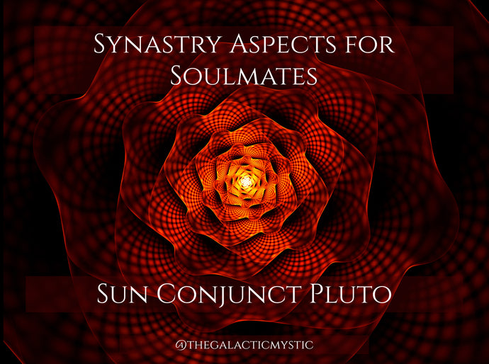 Synastry Aspects for Soulmates - Sun Conjunct Pluto