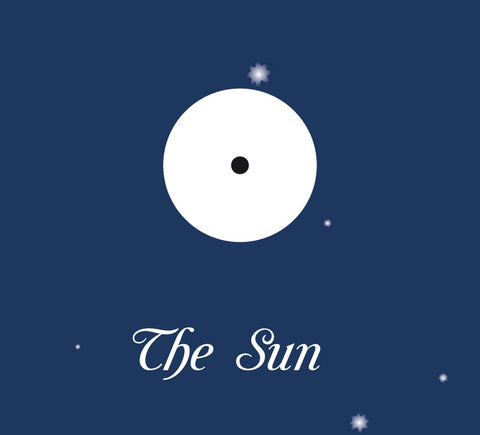 Astrological symbol for the Sun