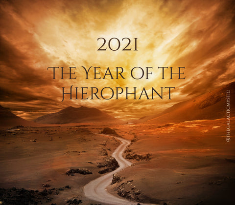 2021 The Year of The Hierophant