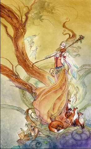 Page of Wands Shadowscapes