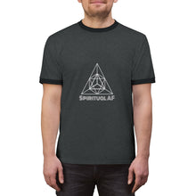 Load image into Gallery viewer, Spiritual AF - Unisex Ringer Tee