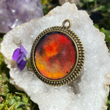 Load image into Gallery viewer, Antares Galactic Pendant with Druzy Quartz, Rose Quartz, and Black Tourmaline