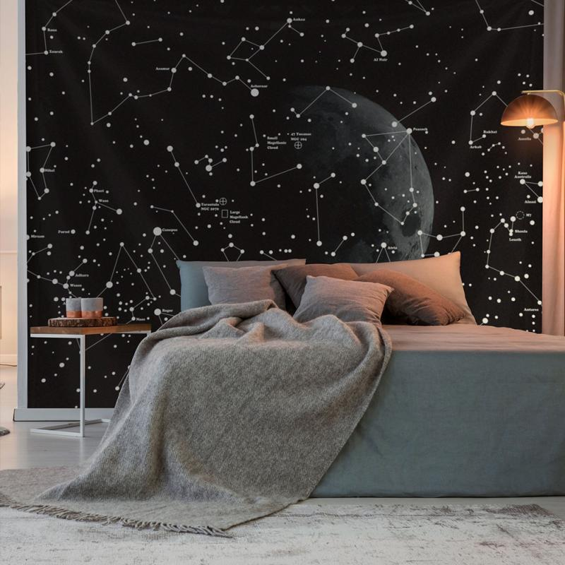 Black Star Tapestry