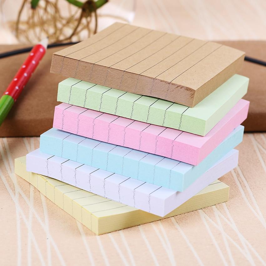 Solid Color Memo Pad