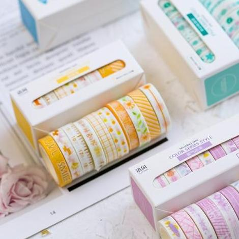 Cute Washi Tape - 10 Pack - Kyla Dawn Designs