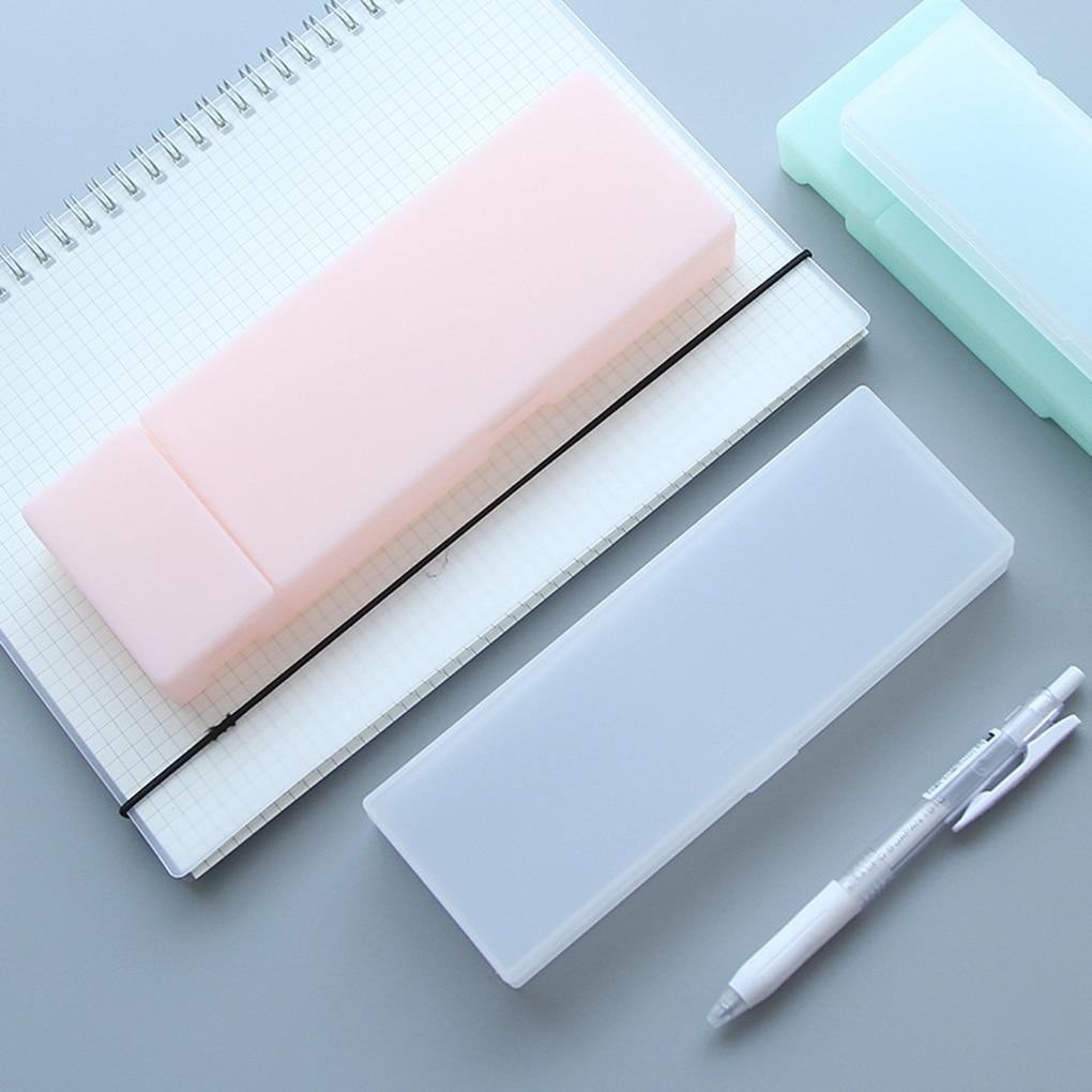 Frosted Plastic Pencil Case - Kyla Dawn Designs