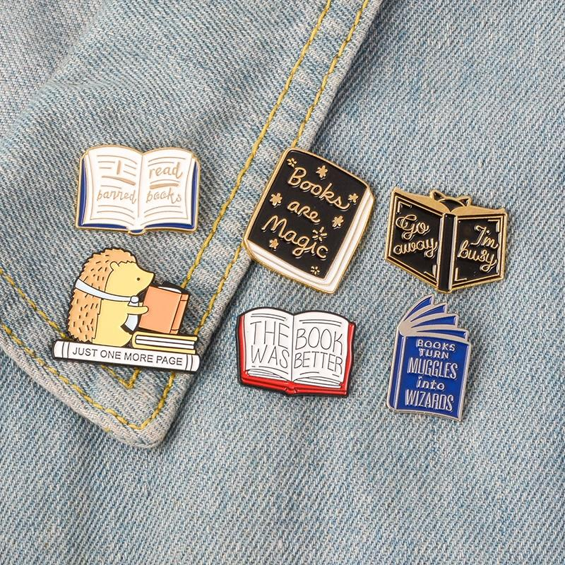 Book Pins - Kyla Dawn Designs
