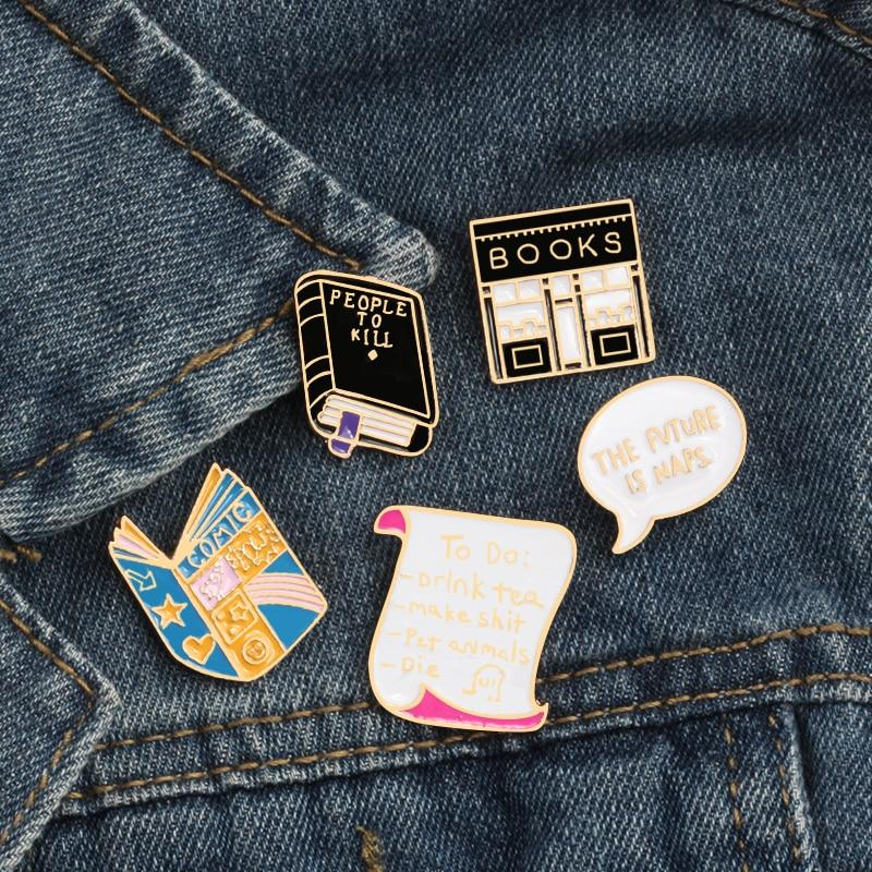 Bookstore Book Pins - Kyla Dawn Designs