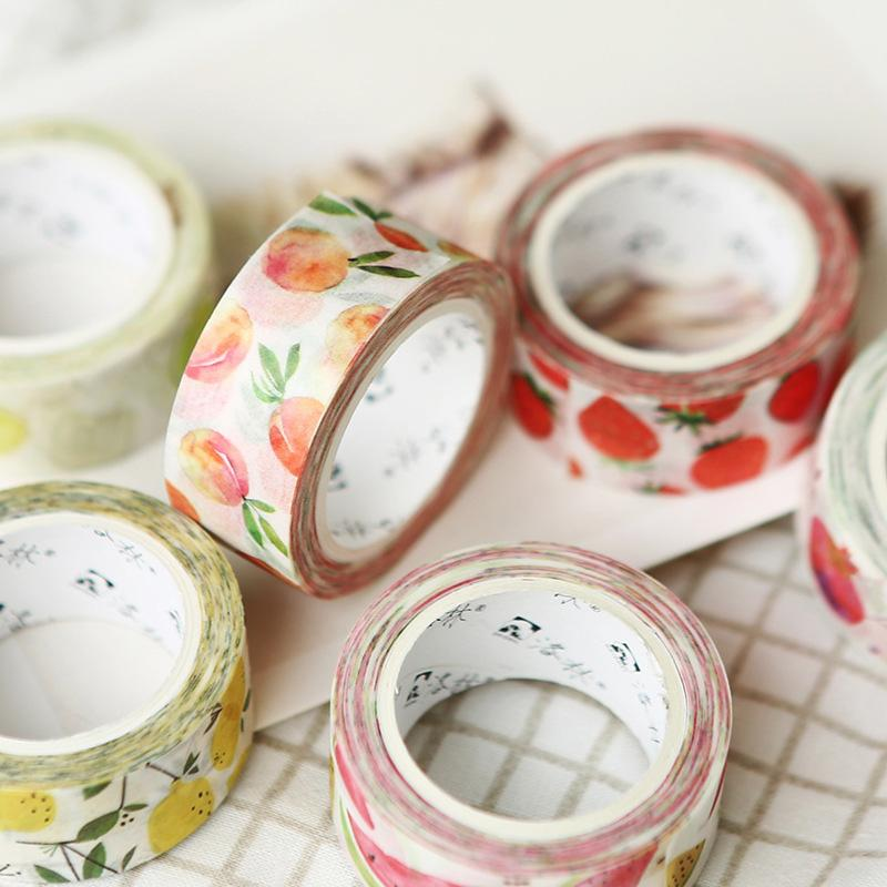 Cute Fruit Washi Tape - 1 Pack