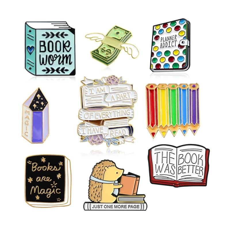 Books Broochs - Kyla Dawn Designs
