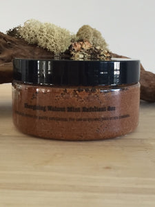 Energizing Walnut Mint Exfoliant 8oz.