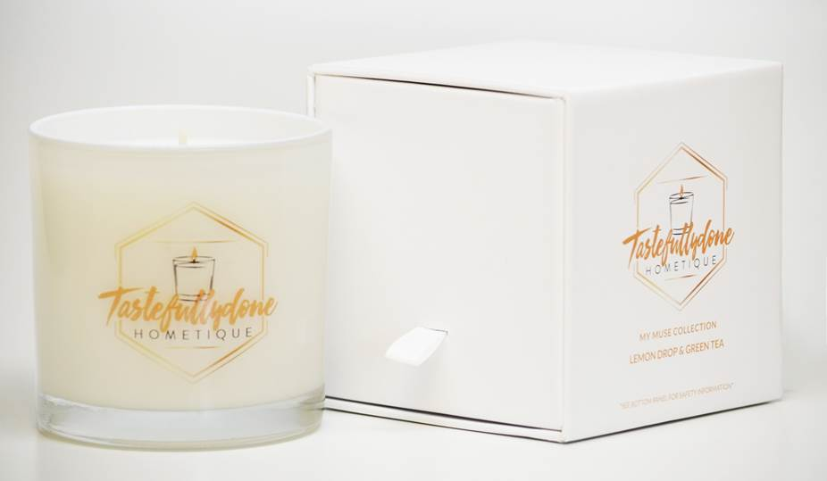 My Muse Candle Collection - Lemon Drop & Green Tea 9oz.