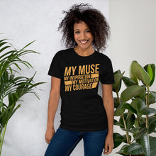 Load image into Gallery viewer, MY MUSE Block Unisex Shirt