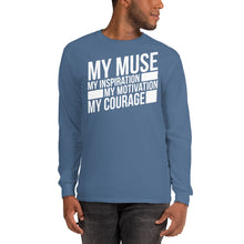 Load image into Gallery viewer, My Muse White Long Sleeve T-Shirt