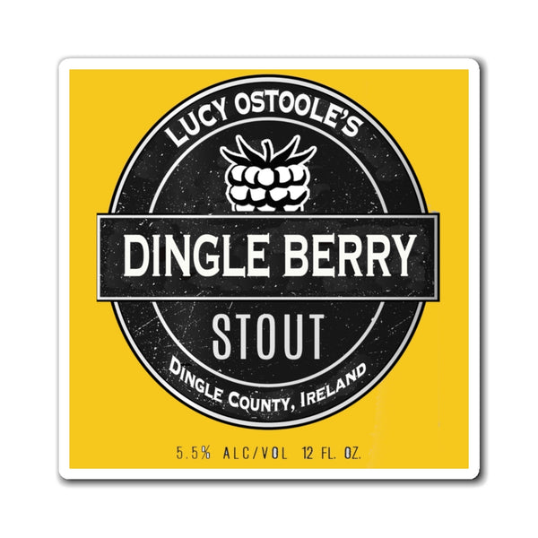 Dingle Berry Stout Lucy O'Stoole's Ireland Dingleberry Stout Magnet