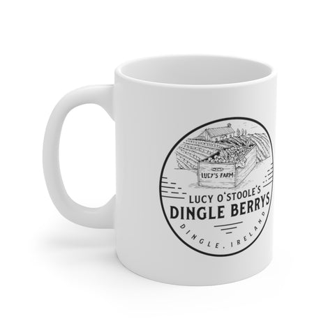Dingle Ireland Funny Irish Lucy O'Stoole's Dingleberry Mug