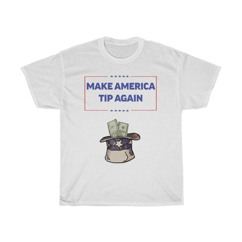 Make America Tip Again Funny Bartender Shirt