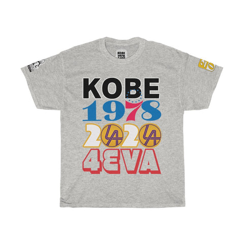 KOBE BRYANT COAST TO COAST SIXERS TO LAKERS LEGACY TEE