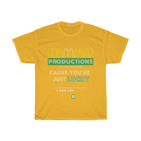 Shamrock Productions HBO's Mcmillions Monopoly Game Fraud Paddy's Day T-Shirt