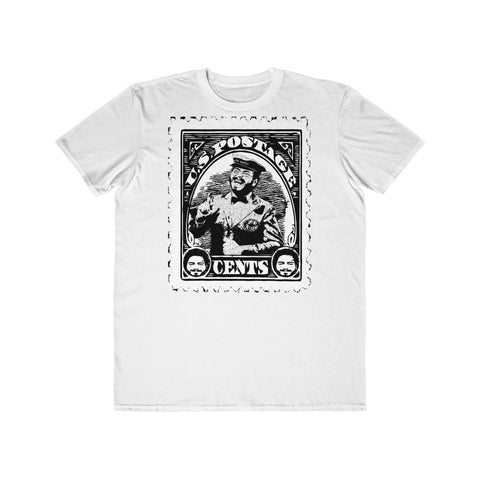 Postage Malone ( Post Malone ) Black & White Funny Postage Stamp Concert Tee
