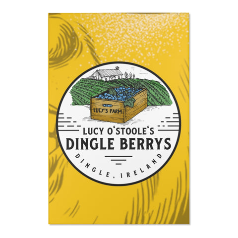 The Dingleberry Dingle Ireland Paddys Day Area Rugs