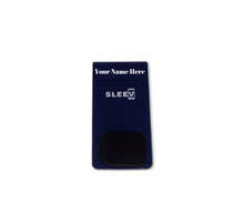 Load image into Gallery viewer, 3-in-1 Phone Wallet (Customized Name Blue) | Phone Wallet, Grip & Kickstand | Sleevd