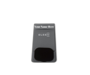 3-in-1 Phone Wallet (Customized Name Grey) | Phone Wallet, Grip & Kickstand | Sleevd