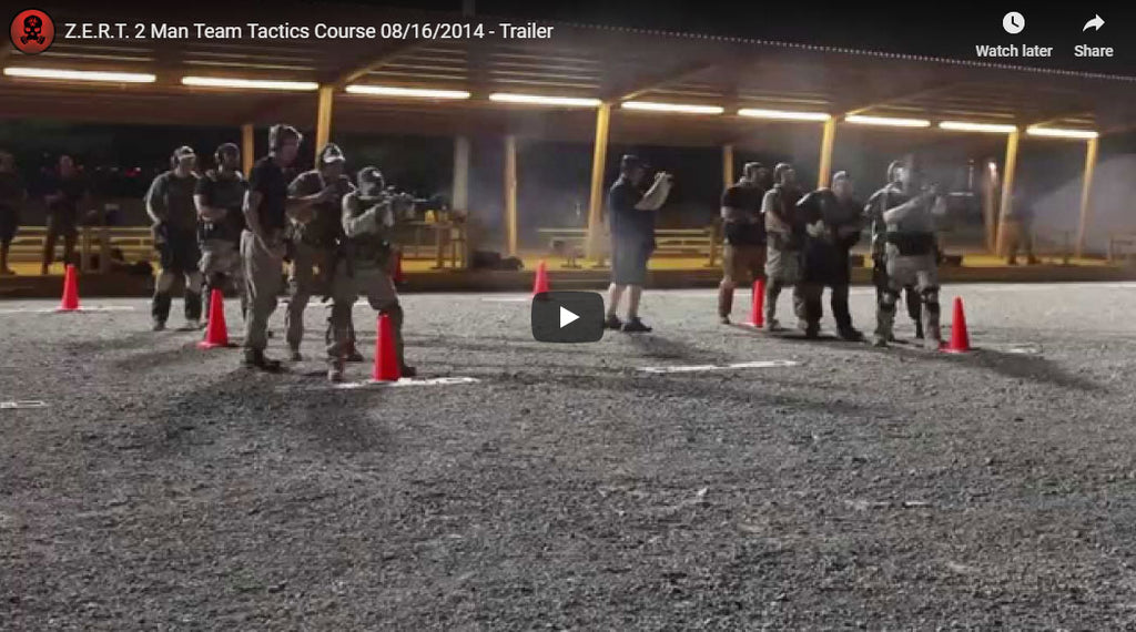 Z.E.R.T. 2 Man Team Tactics Course 08/16/2014 - Trailer