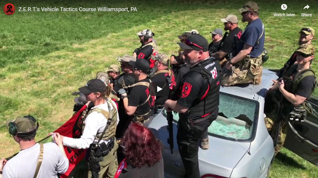 Z.E.R.T.'s Vehicle Tactics Course Williamsport, PA