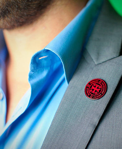 MODERN TEMPLAR PATCH & LAPEL PIN SET