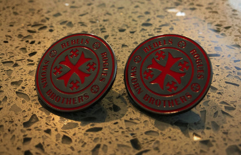 Image of MODERN TEMPLAR PATCH & LAPEL PIN SET