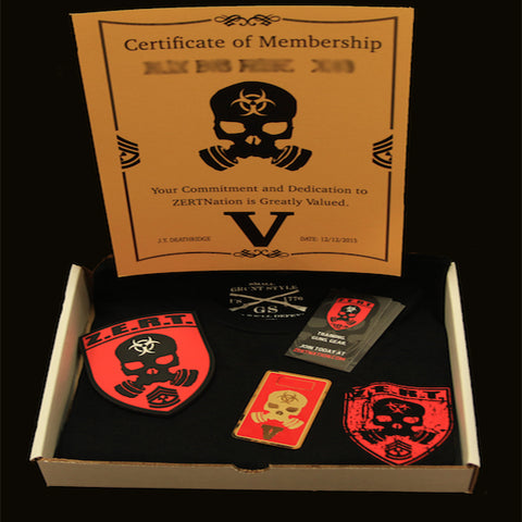 Image of 5th Year red card box