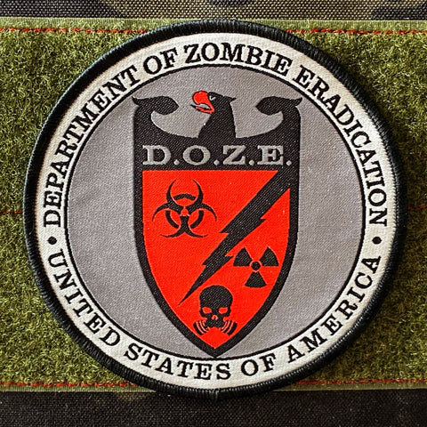 DEPARTMENT OF ZOMBIE ERADICATION - D.O.Z.E. PATCH