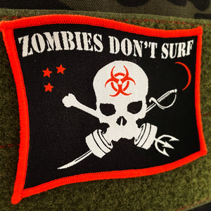 ZOMBIES DON'T SURF PATCH