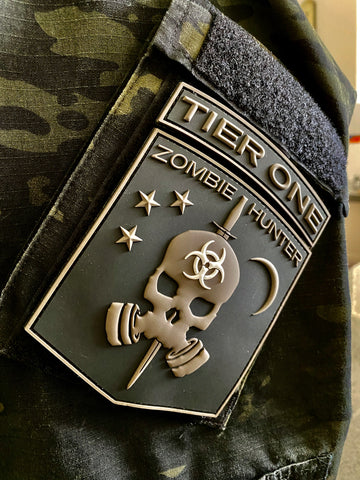 Image of TIER 1 ZOMBIE HUNTER PATCH v2