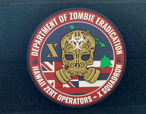 Image of HAWAII X- SQUADRON Z.E.R.T PATCH