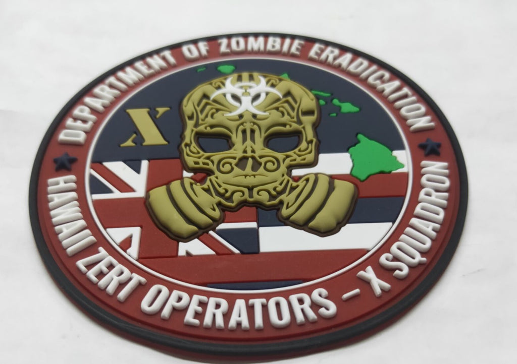 HAWAII X- SQUADRON Z.E.R.T PATCH