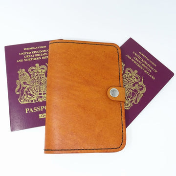 Leather Passport Holder-Travel Wallet-Passport Case